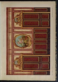 1866 - Recueil de décoration et attributs : cinquante planches imprimées en coleur : extraites du Journal-manuel de peintures