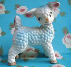 1950's Kitsch China Lamb | Flickr - Photo Sharing!