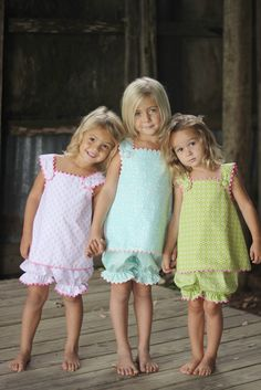 Look familiar Squires Hipes & Bauer Lewis :) Cute Girl Dresses, Little Girl Dresses, Flower Girl Dresses, My Little Girl, My Baby Girl, Sewing For Kids, Baby Sewing, Toddler Fashion, Kids Fashion