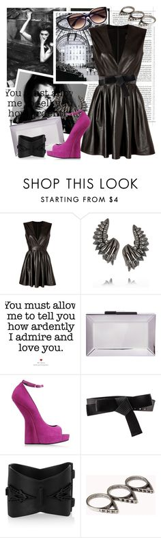 """16 Hours On My Back In A Corner And An Empty Bottle Of Jack."" by xxshellxx ❤ liked on Polyvore featuring Max Fowles, Roberto Cavalli, Rauwolf, Giuseppe Zanotti, Lanvin, Eddie Borgo, Forever 21 and Kate Spade"