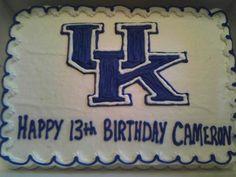 My son's UK Birthday Cake