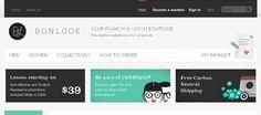 BonLook web design