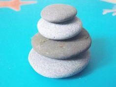 zen stone stacked cairn stones natural pebbles zen garden pile mini stack sea stone italian beach home rock raw genuine lasoffittadiste