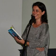 Suzanne Buis tijdens haar lezing 'Daten? Lekker zelf weten!'
