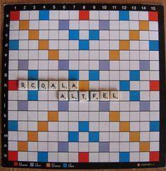 Profu`economist: SCOALA ALTFEL 2014-1 Scrabble, 7 Aprilie