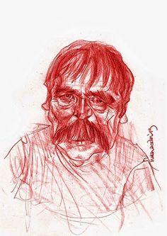 #Yesilcam Turkish Cinema Actor Bilal İnci #Illustration by Hakan Arslan