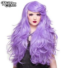 Lolita 26 long wavy light green mixed purple women cosplay wig rockstar wigs br hologram 32 lavender pmusecretfo Images