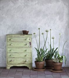 Annie Sloan has teamed up with Oxfam to launch a new chalk paint colour called Lem Lem – the colour of hope. The beautiful, fresh sage green hue launches on Oxfam's anniversary. Chalk Paint Wax, Chalky Paint, Using Chalk Paint, Chalk Paint Furniture, Annie Sloan Chalk Paint, Furniture Styles, Furniture Projects, Retro Furniture, Furniture Design