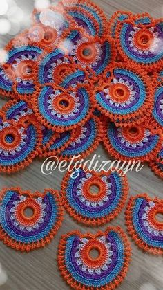 Tığ is - Needle lace Crochet Doily Patterns, Crochet Designs, Crochet Doilies, Crochet Lace, Crochet Hooks, Knitted Poncho, Knitted Shawls, Knit Shoes, Needle Lace
