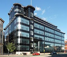 Streamline Moderne - Daily Express Building in Machester Built in 1939