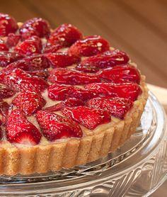 Strawberry Tart with a Shortbread Crust | Tasty Kitchen: A Happy Recipe Community!