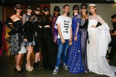 Serbian designer Marko Marosiuk graduated from the Academy of Fine Arts in Belgrade, department of costume design.