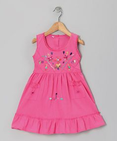 Take a look at this Magenta Leonor Dress - Infant, Toddler & Girls by Little Cotton Dress on #zulily today!