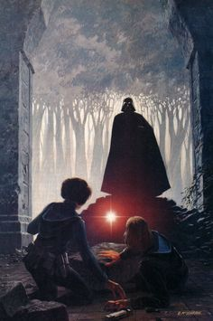 This painting is 40 years old... Star Wars art by Ralph McQuarrie #starwars