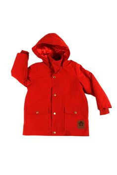 Mini Rodini Red Luton Jacket @ Sparkle & Spin