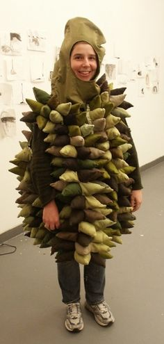 Sweet durian costume by artist Amy M. Ho