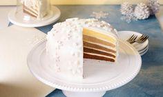 Weihnachtliche Ombré-Torte Rezept | Dr. Oetker