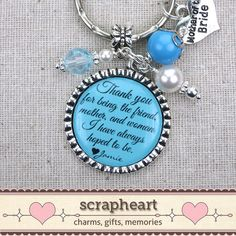 PERSONALIZED Mother of the Bride Gift Gifts by ScrapheartGifts