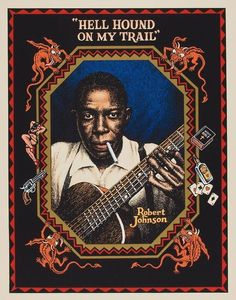 Robert Johnson by Robert Crumb