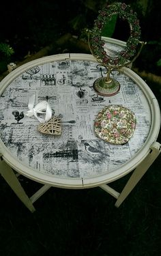 Vintage 1930.s Card Table by Lillyshed on Etsy