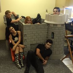 """Emeraude Toubia on Twitter: """"In between takes"""""""