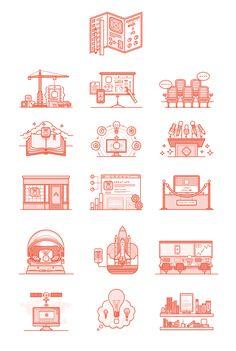 16 Book Illustrations | Daniel Haire | dribbble