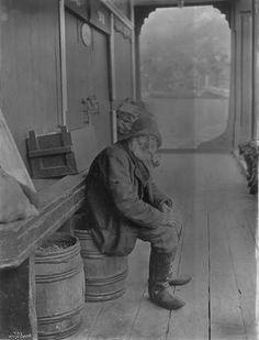 En lun gammel Fisker Bergen 1902