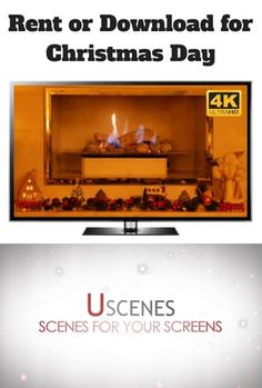 Watch a Christmas fireplace video on Christmas Day. The perfect festive background to set a grea tatmosphere for Xmas Day.