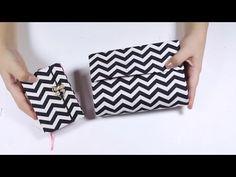Artesanato - Carteira de Caixa de Leite | Bolsa de Caixa de Leite - YouTube