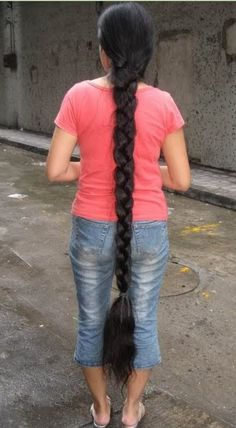 VERY LONG BRAID