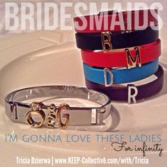 TRICIA DZIERWA | Founding Independent Designer, KEEP Collective ~ E | tdzierwa@bex.net ~ Facebook | https://www.facebook.com/TriciaDzierwaJourney ~ http://www.keep-collective.com/with/Tricia #bracelets #jewelry #personalized #KEEPcollective #KEEPsisters #mom #bride #wedding #engagement #bridesmaids