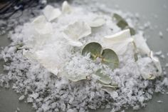 """This has got to be the Winter """"Must Have"""" Confetti Mix. We love nothing better than to combine confetti types and this Snowfetti, Euclyptus & White Lyo Carnations makes for a Magical, Classic & Sumptuous Confetti that really does have the WOW factor. #snowconfetti #wedding #weddingconfetti #snowfetti #winterwedding #2020wedding Biodegradable Confetti, Biodegradable Products, Dried Eucalyptus, Winter Must Haves, Wedding Confetti, Wow Factor, Wow Products, Carnations, Color Schemes"""