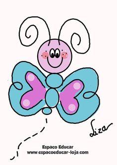Como desenhar uma borboleta no Photoshop Liza Cavalcante