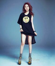 Yoo In Na - Harper's Bazaar Magazine April Issue 2014