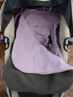 Stroller or Car Seat Cover Bundle Bag PDF Sewing Pattern