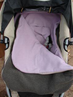 Beth Ledford, here is a good idea! Car Seat Blanket, Stroller Blanket, Bag Patterns To Sew, Pdf Sewing Patterns, Sewing For Kids, Baby Sewing, Baby Bunting Bag, Stroller Cover, Baby Quilts