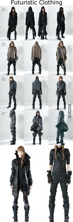 Futuristic Clothing