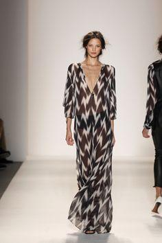 Ikat Caftan Maxi Dress by Rachel Zoe