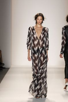 Ikat Caftan Maxi Dress by Rachel Zoe