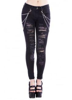 Disturbia Metal Jeans, £52.99