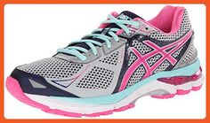 ASICS Women's GT-2000 3 Lightning/Hot Pink/Navy 5 EE - Extra Wide - Athletic shoes for women (*Amazon Partner-Link)