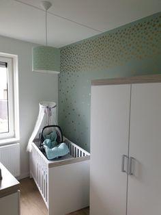 Nieuw De 80 beste afbeeldingen van Babykamer mintgroen ☆ Nursery mint EZ-87
