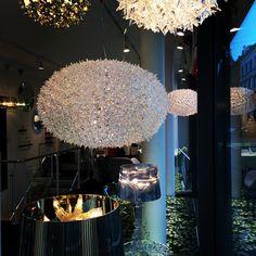 Bloom all over Copenhagen #lamp #by #ferruciolaviani #instore #design #kartell #new #exhibition #kartellcph #bourgie #sparkle #decoration #inspiration kartell,#ferruciolaviani,#kartellcph,#bourgie,#instore