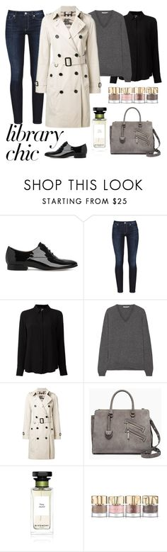 """""""Untitled #919"""" by elizabeth-buttery ❤ liked on Polyvore featuring L.K.Bennett, Calvin Klein, Class Roberto Cavalli, Prada, Burberry, Rebecca Minkoff, Givenchy and Smith & Cult"""