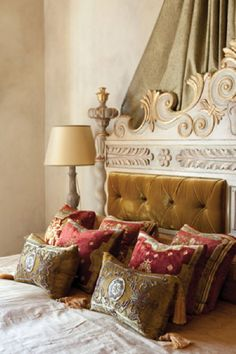 Antique pillows