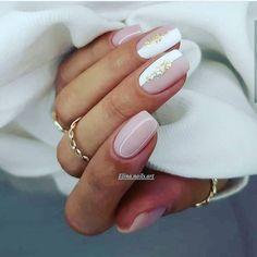 nails Shellac Nails, Nude Nails, Manicure And Pedicure, Pink Nails, Wedding Manicure, Wedding Nail, Manicure Ideas, Bridal Nails, Nail Nail