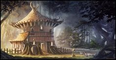 lonely forest housing by Chris-Karbach.deviantart.com on @deviantART