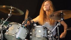 Wow,.. top lil drummer. Sultans Of Swing (Dire Straits); drum cover by Sina