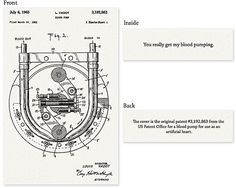 Patent illustration Valentine's Cards