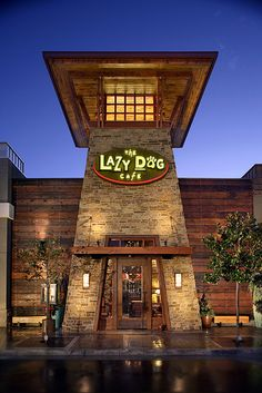 The Lazy Dog Restaurant - Conejo Valley, California Drive Thru Movie, Places To Eat, Great Places, Places In California, Lazy, Dog Restaurant, Dog Cafe, Road Trip With Kids, Dogs